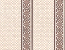 Обои С6БР Уют симплекс 0,53*10,05м полоса, коричневый (компаньон)