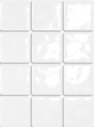 Плитка настенная 9,9*9,9 Бриз белый 1236Т