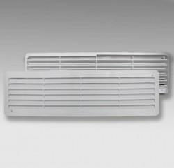 Решетка вентиляционная переточная 450*91мм, комплект 2шт ЭРА 4409ДП