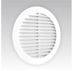 Решетка вентиляционная круглая 150мм., сетка, с фланцем 125мм ЭРА 12РКС