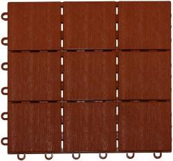 Плитка садовая декоративная 30*120см /4шт/ шоколад