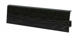 Плинтус пластиковый NGF80 Дуб Паленый 86.