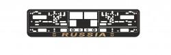 Рамка номерного знака AVS Russia золото RN-09