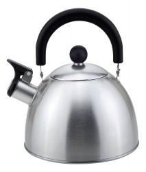 Чайник 2,5л Mallony нжс со свистком, матовый MAL-039-MP