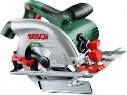 Пила циркулярная Bosch PKS 55 1200Вт, 0-5300об\м, диск-ф160х20мм,рез-55мм,3.9кг,кор, 0603500020