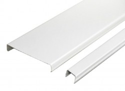 Набор реечного потолка AN85A белый c раскладкой белый матовый (2 кв.м)