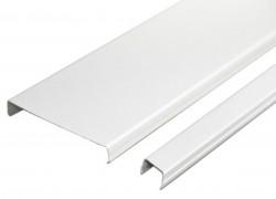 Набор реечного потолка AN85A белый глянец c раскладкой белый глянец (2 кв.м)