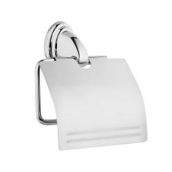Держатель для туалетной бумаги с крышкой NOVAL, FORA (ФОРА)