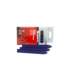 Мелки разметочные восковые синие, 120мм, коробка 6шт., Matrix, 84819