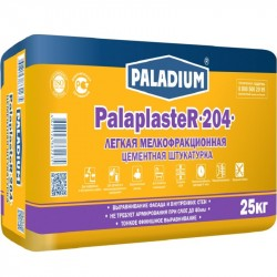 Штукатурка цементная легкая Paladium Palaplaster-204, 25 кг
