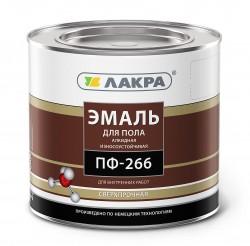 Эмаль ПФ-266 (Лакра) 2кг золотисто-коричневая