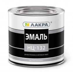Эмаль НЦ-132 1,7кг красный /Лакра/
