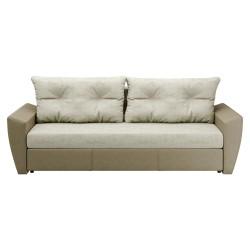 Диван-Кровать Берг 2320х870х880 (Luxor 2 белый + Манго 3048)