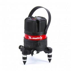 Уровень лазерный Matrix ML04P диап.изм.10м, +0,3мм/1м, 4верт.1гор.пл,пыле-влаго.защ.корп., 35061