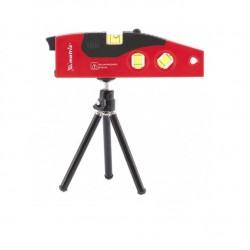 Уровень лазерный, 180мм, штатив 220мм, 4гл., Matrix 35022
