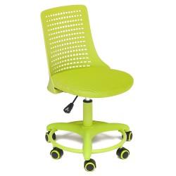 Кресло компьютерное  сетка зеленый 43х40см
