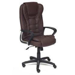 Кресло компьютерное  экокожа коричневый 61х51см