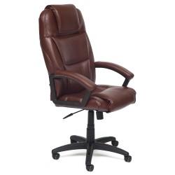 Кресло компьютерное  экокожа коричневый 61х50см