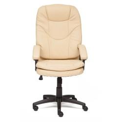 Кресло компьютерное  экокожа бежевый 64х48см