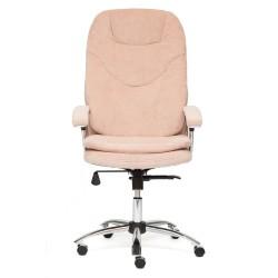 Кресло компьютерное Кресло SOFTY Lux ткань, розовый, мисти роуз