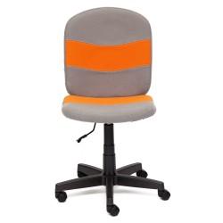 Кресло компьютерное Кресло STEP (ткань, серый/оранжевый, С27/С23)
