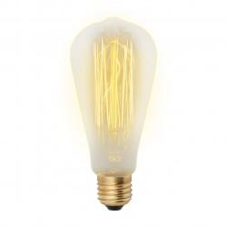 Лампа накаливания Uniel Vintage IL-V-ST64-60/GOLDEN/E27 VW02 E27 Цилиндрическая {133}Вт2200К