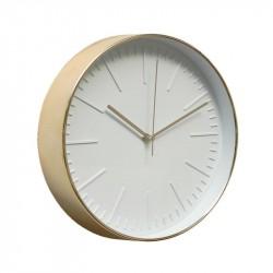 Часы настенные Artlink Clock brass 30,6x30,6см 79848