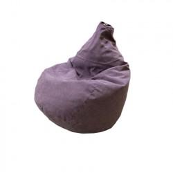 Кресло-мешок интерьерный Велюр 14024, Слива 7194 (0,9*0,9*1,3)
