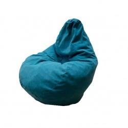Кресло-мешок интерьерный Велюр 14024, Бирюза 7196 (0,9*0,9*1,3)