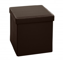 Пуф складной малый Space DK Brown (0,38*0,38*0,38)