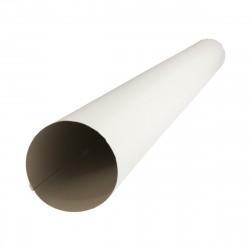Труба круглая ф100 3м ПЭ RAL 9003
