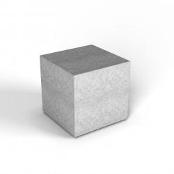 Фигура декоративная Flox Куб белый гранит