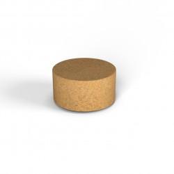 Фигура декоративная  Flox Цилиндр малый песочный гранит