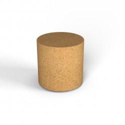 Фигура декоративная Flox Полуцилиндр песочный гранит