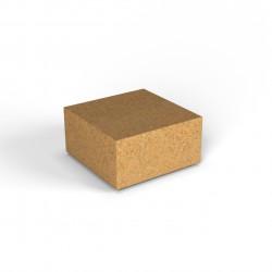 Фигура декоративная Flox Полукуб песочный гранит