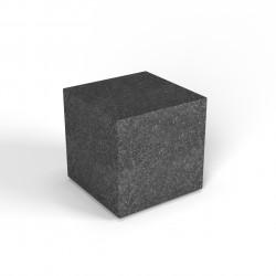 Фигура декоративная Flox Куб черный гранит