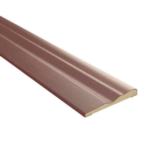 наличник фигурный,3d финиш-пленка 2150х70х8мм,итальянский орех