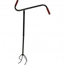Культиватор ручной Краб малый деревянная ручка