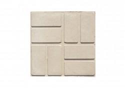Плитка тротуарная полимерпесчаная цвет серый, 250 х 250 х 20 мм