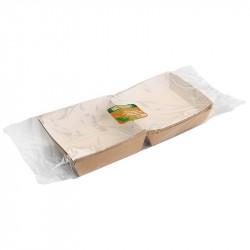 Коробка д/гамбургера, 120*120*70мм, крафт, без печати, картон 5шт/уп