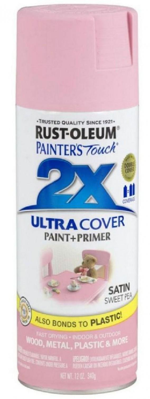 Аэрозольная эмаль Painters Touch 2X нежная роза 400 мл.