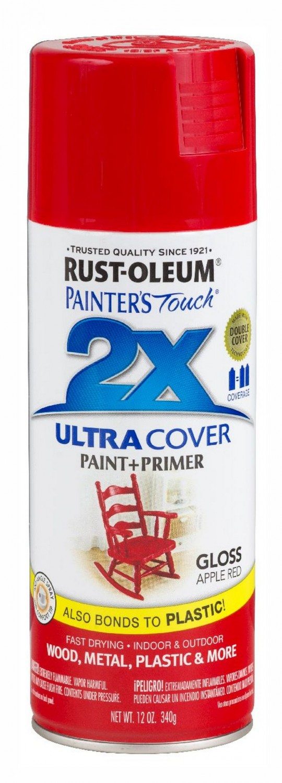 Аэрозольная эмаль Painters Touch 2X красное яблоко 400мл.