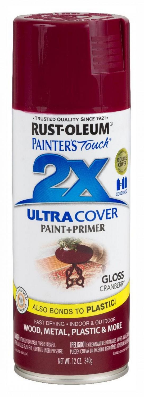 Аэрозольная эмаль Painters Touch 2X клюква глянцевый 400 мл.