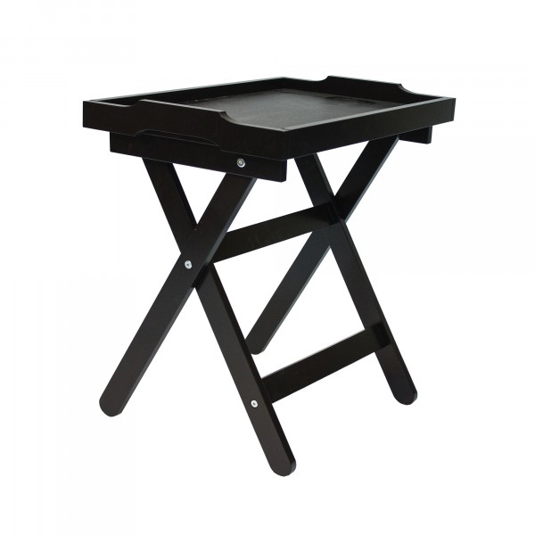 столик с подносом подкатной лотос мдф венге 1864-1433 pusha столик vision