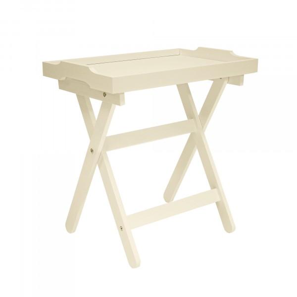 столик с подносом подкатной лотос мдф дуб шамань 1864-1433 pusha столик vision