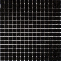 Мозаика для бассейна Alma SE46 черная 32.7x32.7