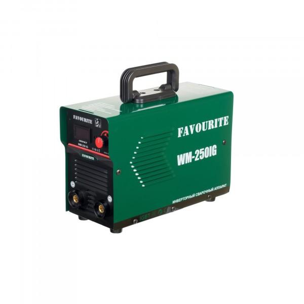 аппарат инвертор. дуговой сварки favourite wm-250ig (250, электрод 1,6-4мм)
