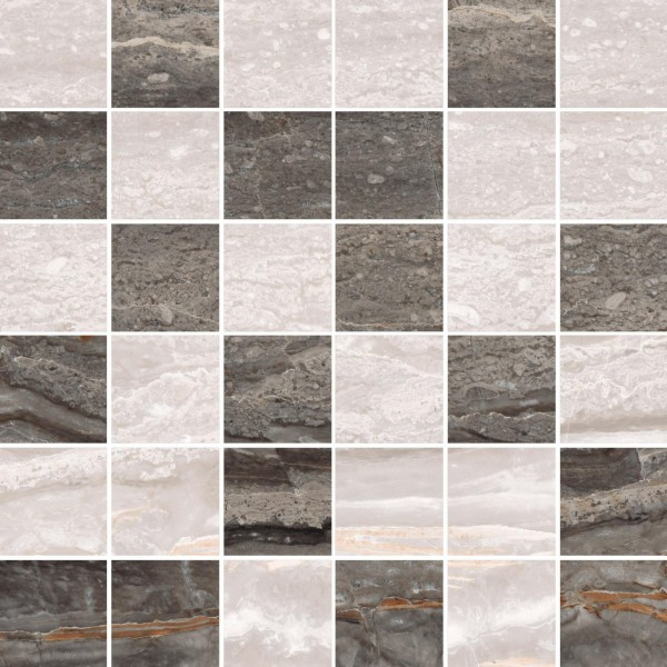керамогранит bergamo мозаика микс теплая (30x30) мозаика primacolore crystal gc123sla 1 5x4 8 30x30