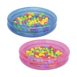 Надувной бассейн с 50 шариками, 91*20 см, 73 л, 51085 Bestway
