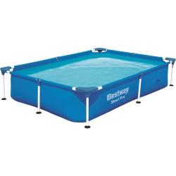 Бассейн каркасный 221*150*43 см 1200 л, Steel Pro Bestway 56401